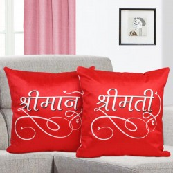 Sri Man Sri Mati Cushion