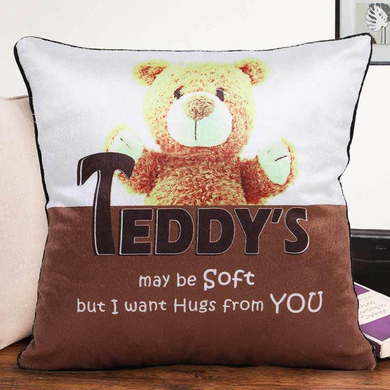 Teddy Hug Cushion