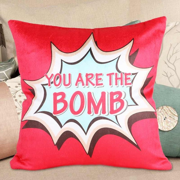 You are the Bomb Cushion