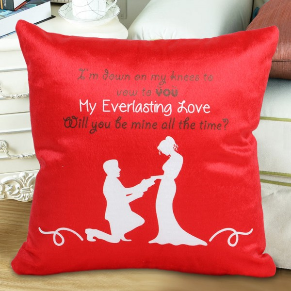 The Proposal Cushion