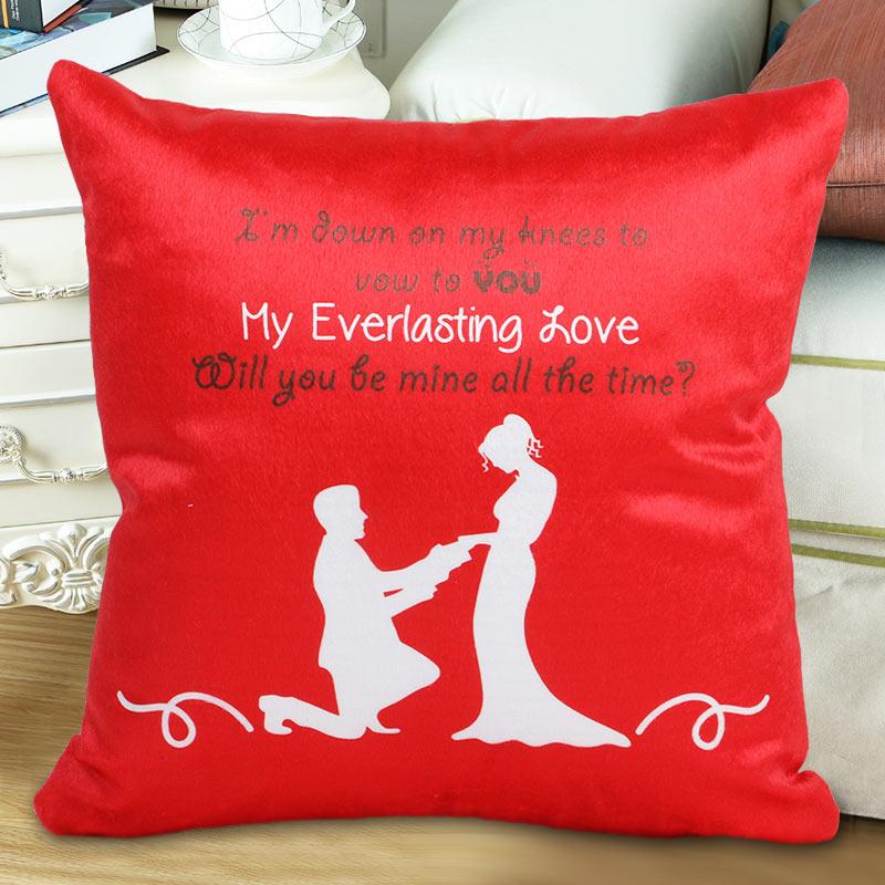 The Proposal Cushion