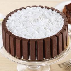 Kitkat Rose Cake
