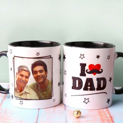 I Love Dad Personalised Mug