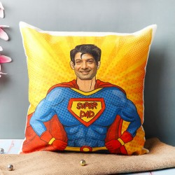 Superdad Personalised Cushion