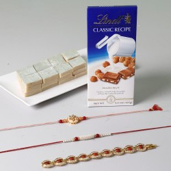 Unique Rakhi Celebration With Sweets And Lindt