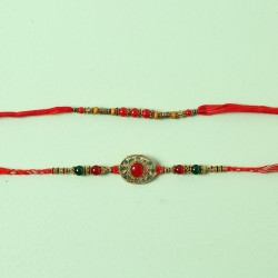Colourful Set Of 2 Rakhis