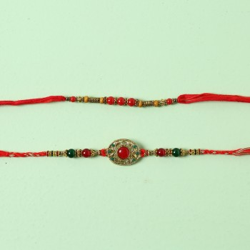 Colourful Set Of 2 Rakhis