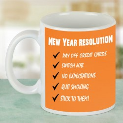 New Year Resolutions Mug
