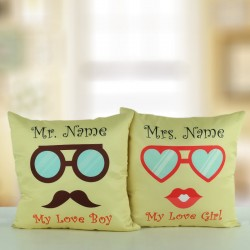 Mr N Mrs Cushion Combo