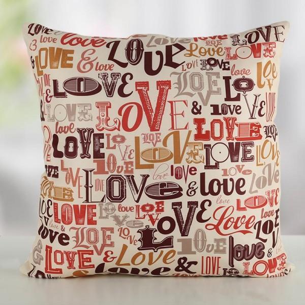 Love Theme Designer Cushion