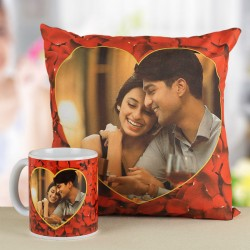 Birthday Gifts View All Romantic Heart Combo