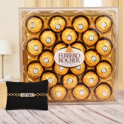 Sweet Rakhi Hamper for Brother