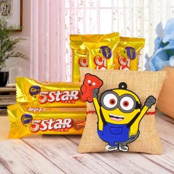 Joyful Rakhi Combo for Kids