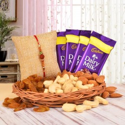 Perfect Basket for Rakhi