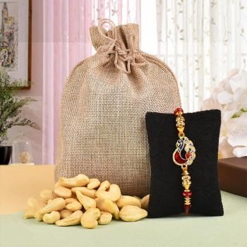 Designer Rakhi N Cashews Potli