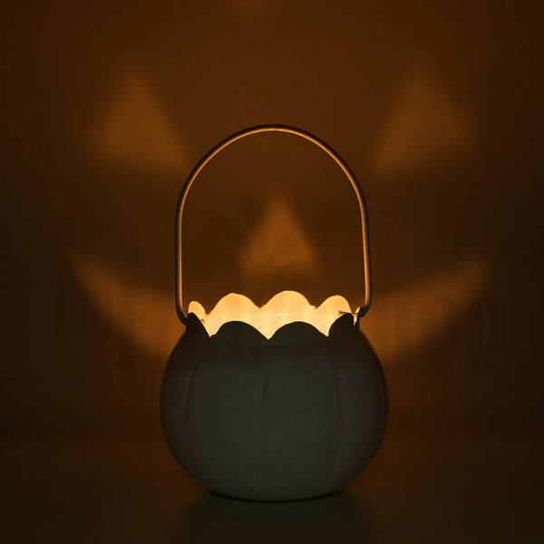 Halloween Bucket with Light Inside