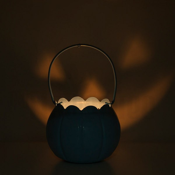 Halloween Bucket with Light Inside