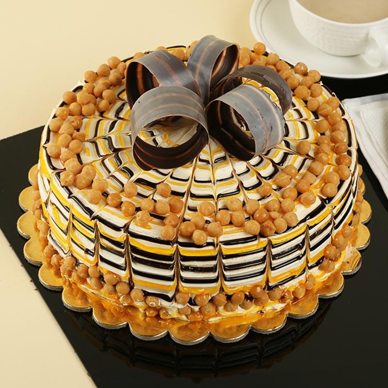 Exotic Butterscotch Cake Myflowertree