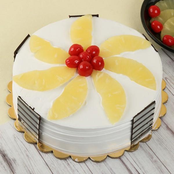 Half Kg Pineapple Fruit Cake