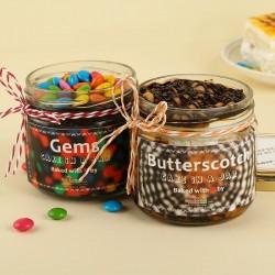 Crunchy Gems Jar Cakes