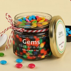 Gems Cake in a Jar