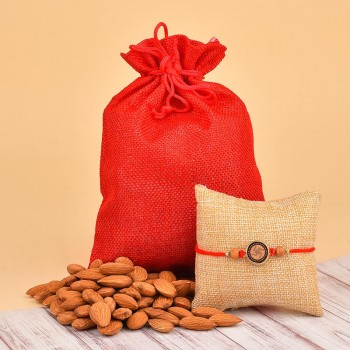 Rakhi N Almonds Combo