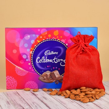 Cadbury Celebration Pack with Almond Potli