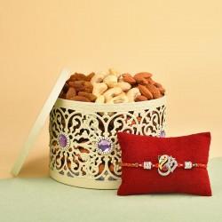 Designer Rakhi N Dry Fruits