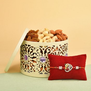 Designer Rakhi N Dry Fruits