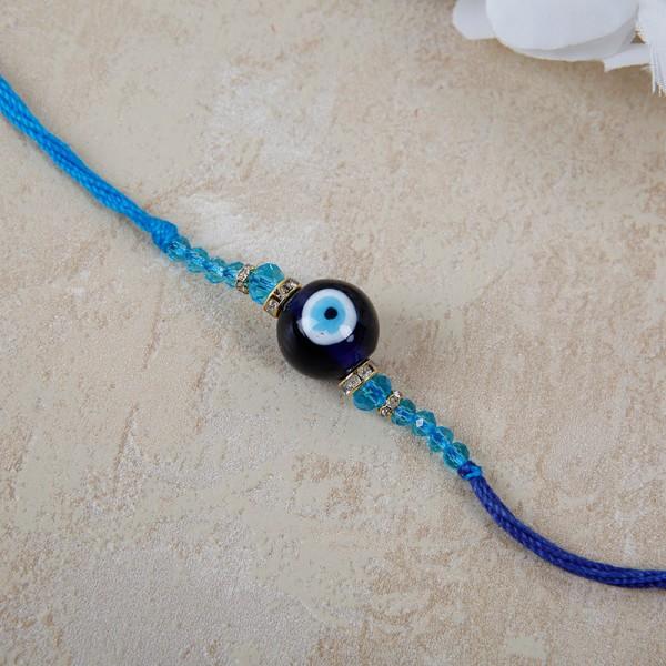 Blue Evil Eye Rakhi
