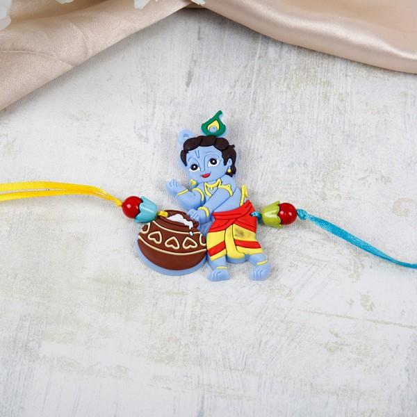 Lovable Krishna Makhan Rakhi