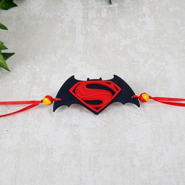 Classic Superman Batman Rakhi