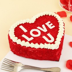 Hearty Red Velvet Cake