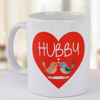 Hubby Heart Mug
