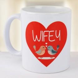 Wifey Heart Mug