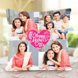 Personalised Photo Cushion For Mom