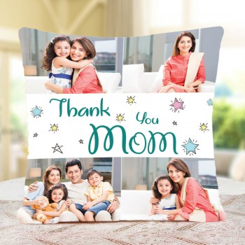 Personalised Thank You Mom Cushion