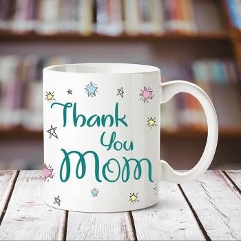 Personalised Thank You Mom Printed Coffee Mug