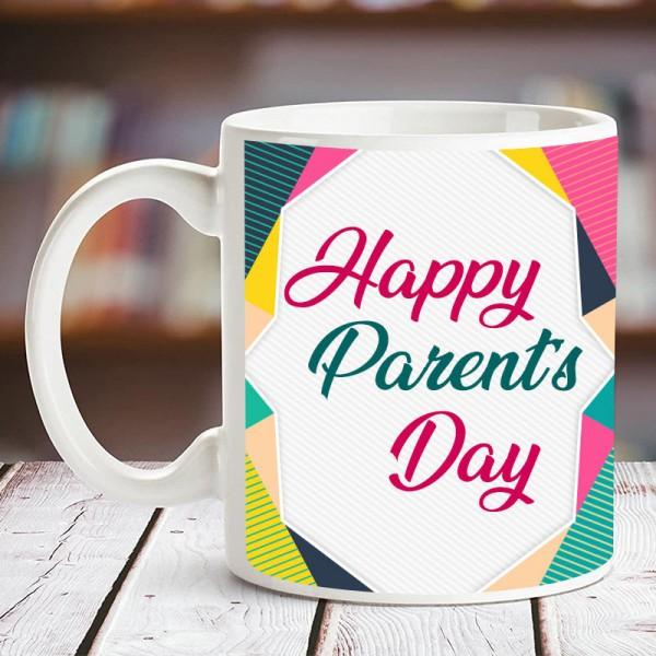 Happy Parents Day Printed Mug