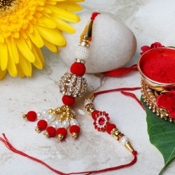 Rakhi Set for Bhaiya Bhabhi