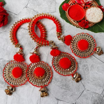 Bangle Style Lumba Rakhi Set