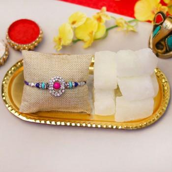 Pleasing Rakhi Gift Combo