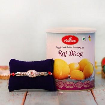 Rakhi with Raj Bhog
