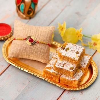 Sweetness Overloaded Rakhi Gift