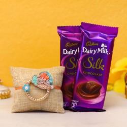 Sweetness Infused Rakhi Gift