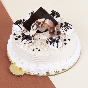 Half Kg Coffee Cream Cake