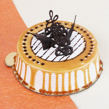Half Kg Caramel Coffee Cake