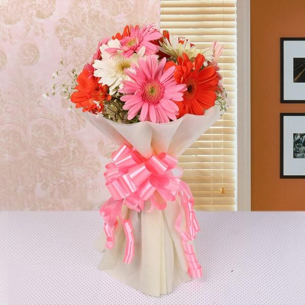 Mixed Gerberas Bouquet