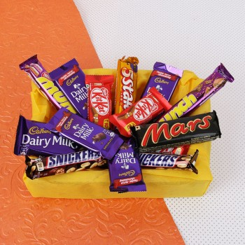 Mixed Chocolate Basket Hamper