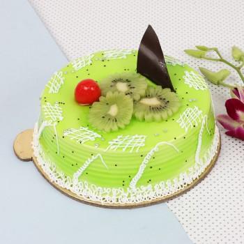 Half Kg Kiwi Punch Fruit Cake Cake